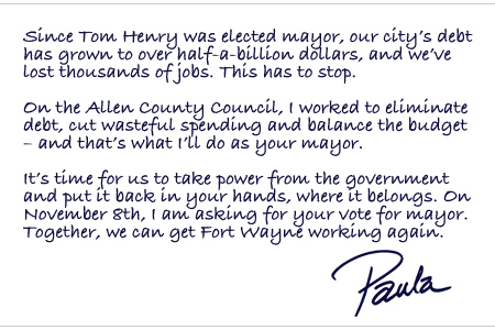 Paula Letter